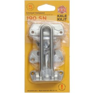 Kale DOOR RETAINER FOR WOODEN METAL AND STEEL DOORS Satine Nickel Plated