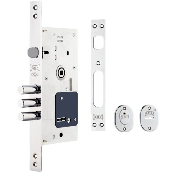 KALE DOOR LOCK DOUBLE-BIT KEY MORTISE LOCK SET FOR STEEL DOORS 252RL