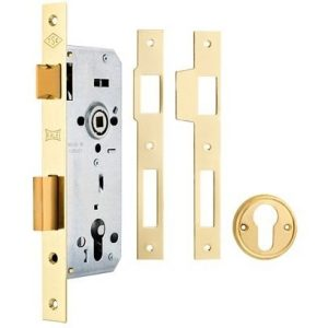 KALE DOOR LOCK MORTISE LOCK WITH CYLINDER FOR WOODEN DOORS WITH BALL BEARING