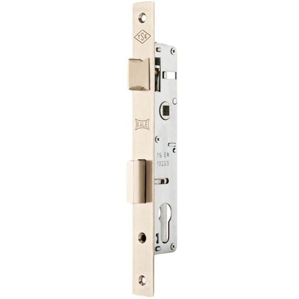 KALE DOOR LOCK MORTISE LOCK WITH CYLINDER FOR ALUMINIUM DOORS WITHOUT STRIKING PLATE AND ROSETTE