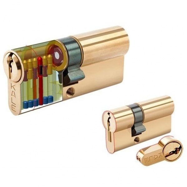KALE DOOR LOCK TRAP CYLINDER STANDARD CYLINDER 164-KTBG
