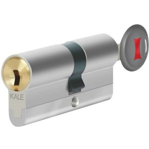 KALE DOOR LOCK ADVANCED SECURITY CYLINDER WITH CORE POSITIONED PINS WITH REGISTRATION CARD 164-CEC
