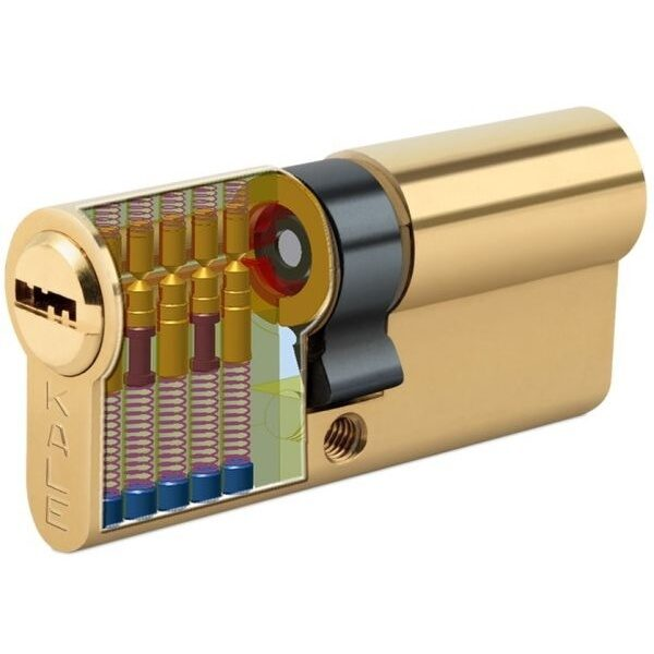 KALE DOOR LOCK HIGH SECURITY CYLINDER WITH REGISTRATION CARD 164-BN