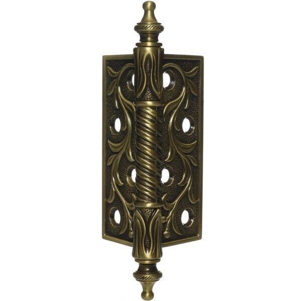 Ghidini Door Hinge Gold, 4 Inch iah13-01