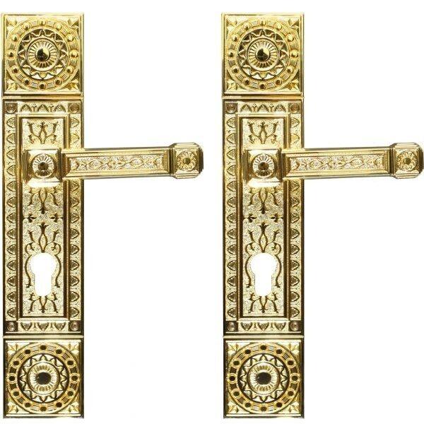 Ghidini Door Handles Cylinder Bronze ia05-03