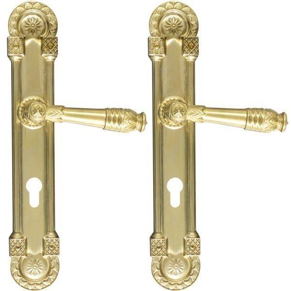 Ghidini Door Handles Cylinder Gold ia01-03