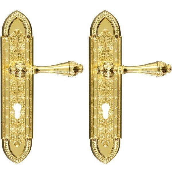 Ghidini Door Handles Cylinder Gold ia25-03