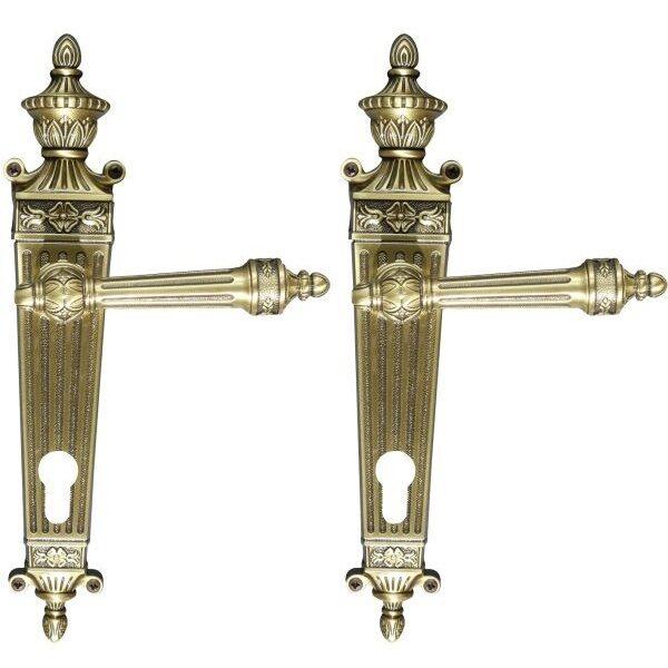 Ghidini Door Handles Cylinder Bronze ia07-02
