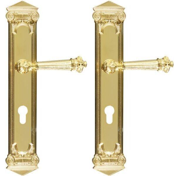 Ghidini Door Handles Cylinder Gold ia05-03