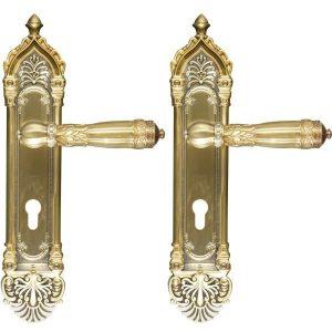 Ghidini Door Handles Cylinder Bronze ia24-03