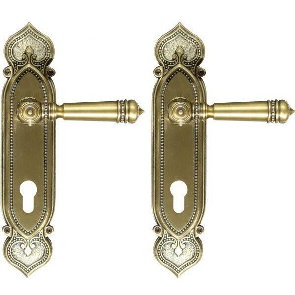 Ghidini Door Handles Cylinder- Bronze ia11-02