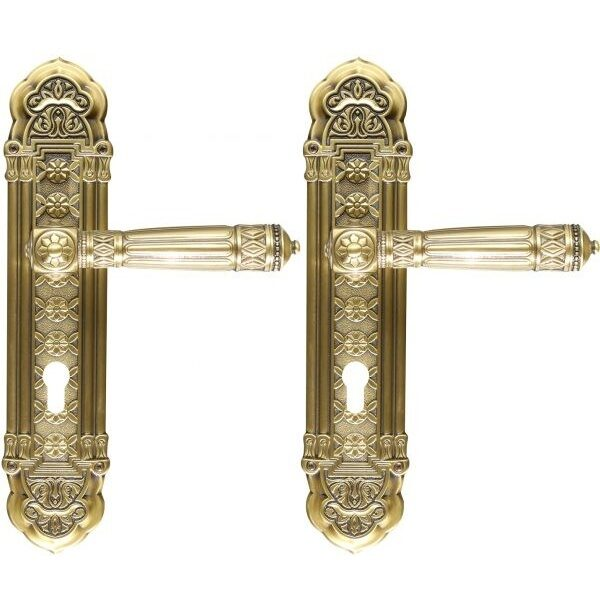 Ghidini Door Handles Cylinder Bronze ia22-03