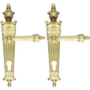 Ghidini Door Handles Cylinder Gold ia07-02