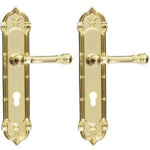 Ghidini Door Handles Cylinder Gold ia02-03
