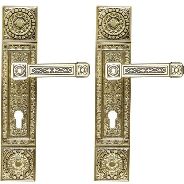 Ghidini Door Handles Cylinder Bronze ia08-03