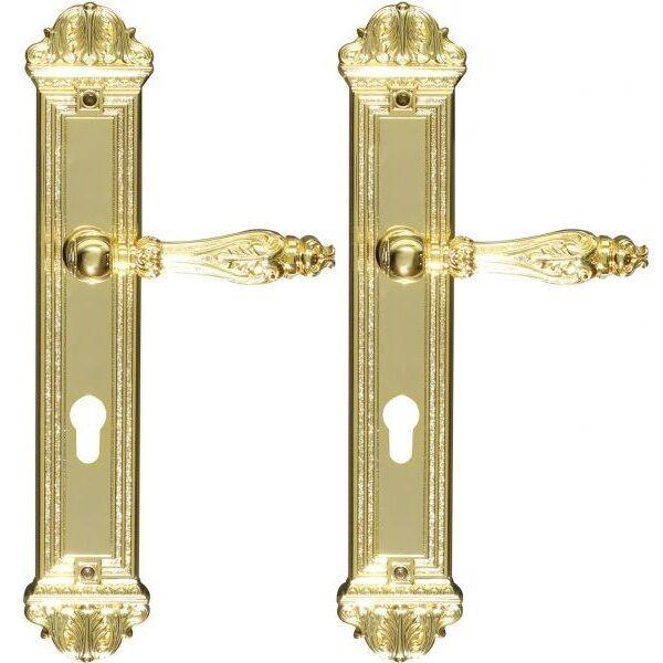 Ghidini Door Handles Cylinder Gold ia10-03