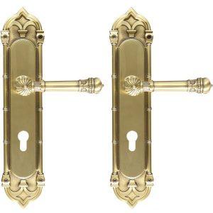 Ghidini Door Handles Cylinder Bronze ia02-03