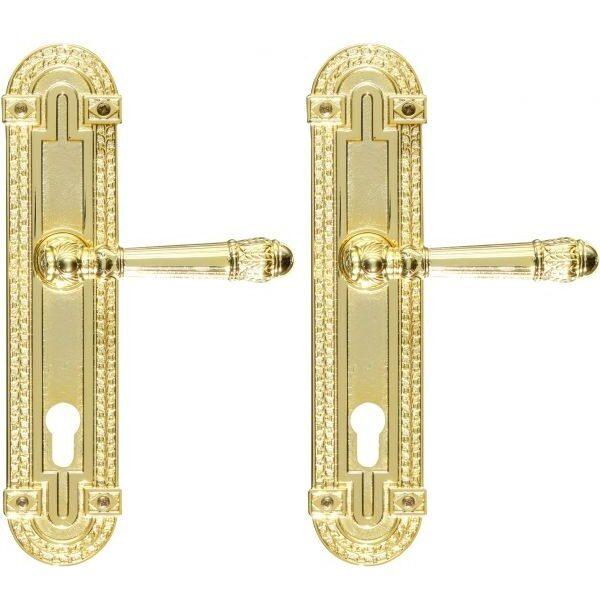Ghidini Door Handles Cylinder Gold ia04-02