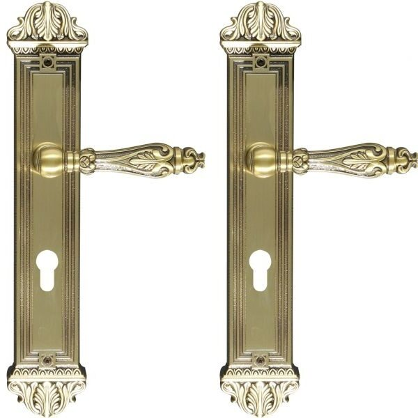 Ghidini Door Handles Cylinder Bronze ia10-03
