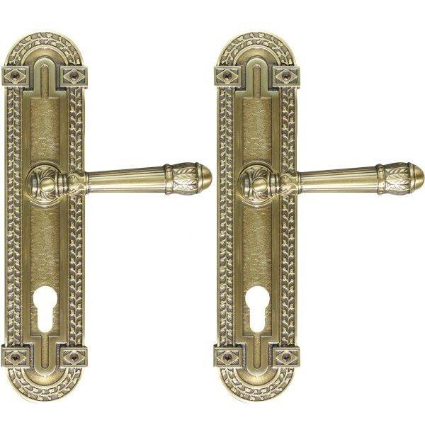 Ghidini Door Handles Cylinder Bronze ia04-02
