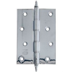AMIG door Hinge silver 4 inches 100 X 70 X 3 Mm 5966