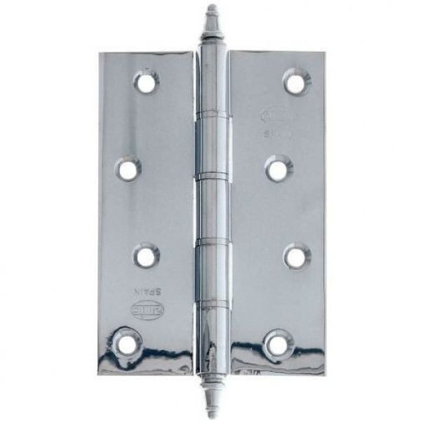 AMIG door Hinge silver 4 inches 100 X 70 X 3 Mm 5966