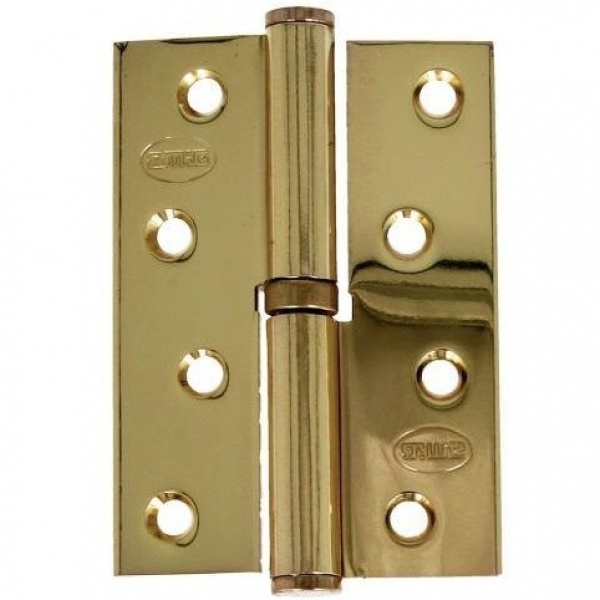 AMIG door Hinge gold 4 inches 100 X 70 Mm Right 6300