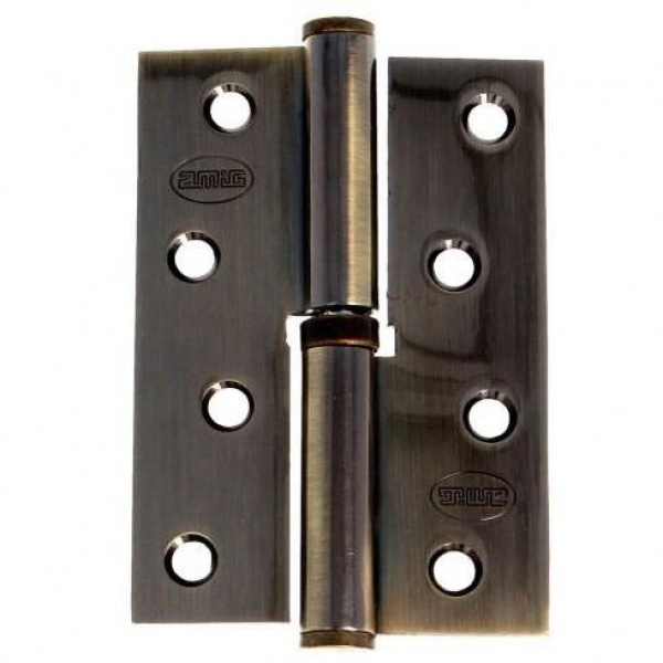 AMIG door Hinge oxide 4 Inches 100 X 70 Mm Left 6319