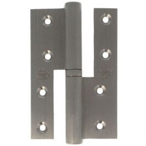 AMIG door Hinge silver brass 120 X 80 X 4 Mm Right 17449