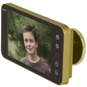AMIG Digital door viewer LCD full HD gold 21376