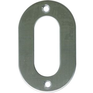 AMIG door numbers Stainless Steel Number 0 6768