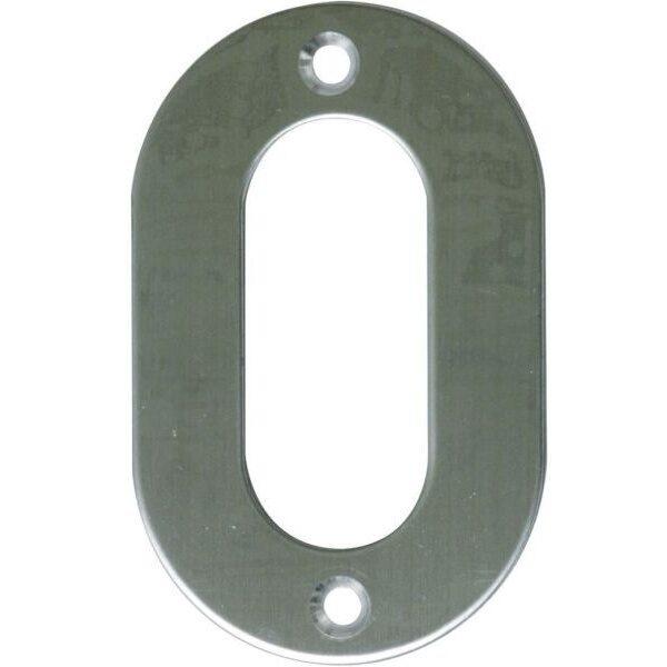 AMIG door numbers Stainless Steel Number 0 6768