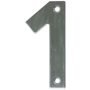 AMIG door numbers Stainless Steel Number 1 6769