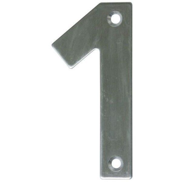 AMIG door numbers Stainless Steel Number 1 6769