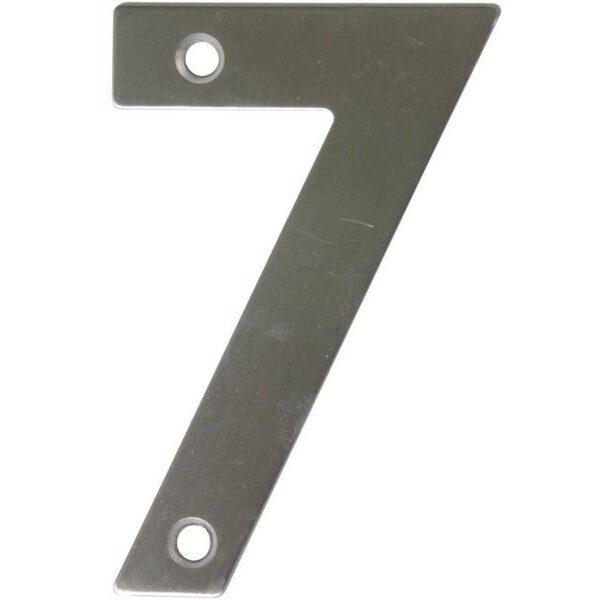 AMIG door numbers Stainless Steel Number 7 6775