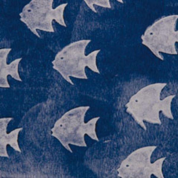Dekor Cute Fish Stamp 90Mm 1334