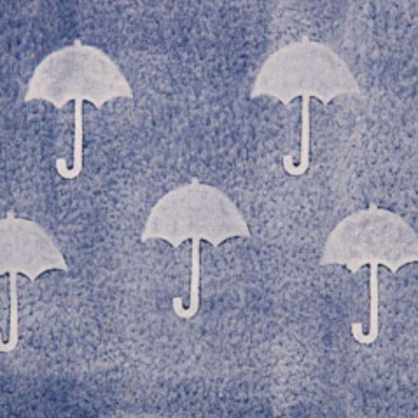 Dekor Umbrella Stamp 90Mm 1454
