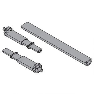 BLUM TIP-ON synchronisation linkage+TIP TIPON pinion