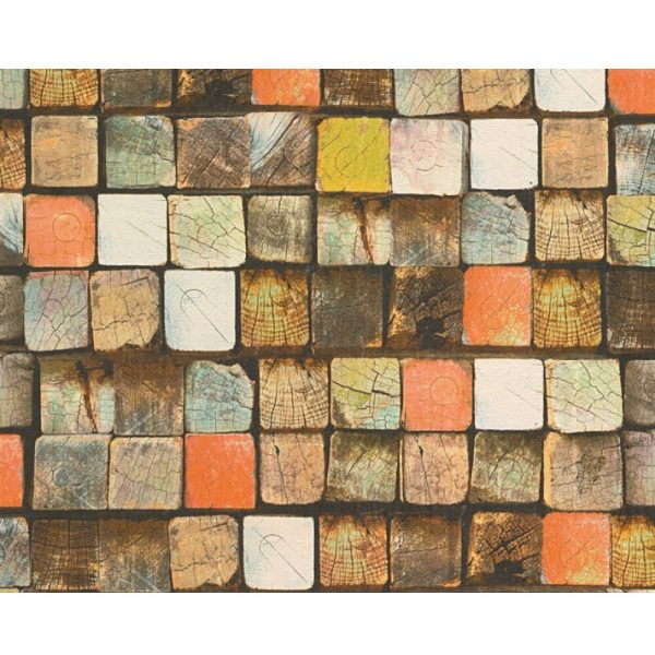 Wallpaper A.S Creation 344521 Wood&Stone .53x10,05 m(5m2)