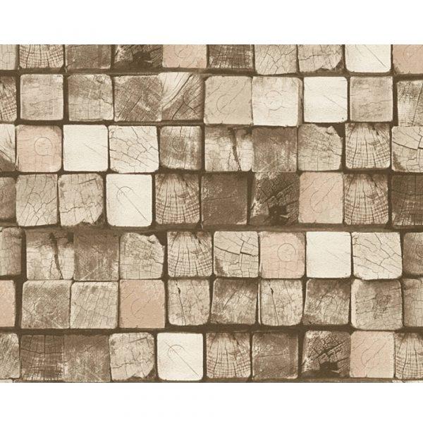 Wallpaper A.S Creation 344525 Wood&Stone .53x10,05 m(5m2)
