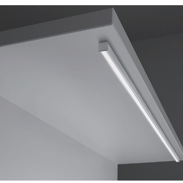 L&S Led LIGHT Alluminium profile opal cover for RECESSED