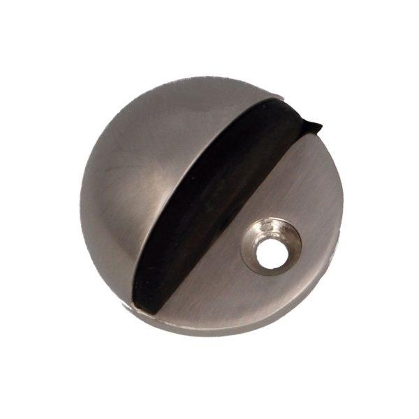 AMIG Doorstop Silver matt 1/2 circular