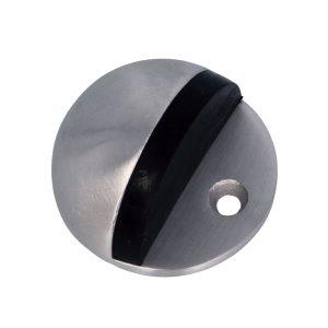 AMIG Doorstop Silver Glossy 1/2 circular