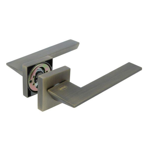 AMIG Door Handles Cylinder Rosette Oxide Matt