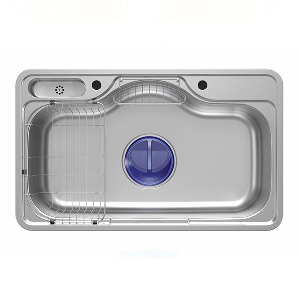 May kromluks Sink Turkish Stainless Steel M001-2