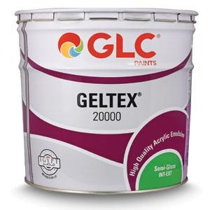 Plastic Paint GLC Geltex Semi-Gloss 20000