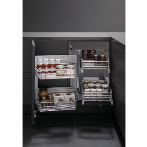 Wire pull-out Smart Corner left 450 mm