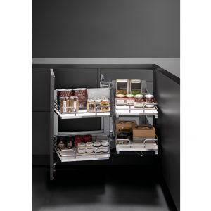 Galaxy pull-out Smart Corner left 450 mm