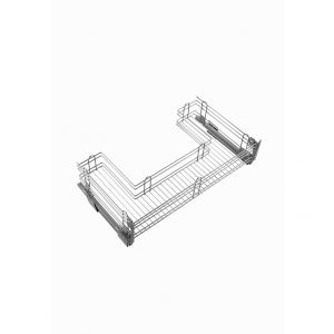 Upper sink cabinet with a wire structure included Kit door brackets 800 mm