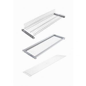 Ecovariant Dish draining rack kit Acrylic 900 mm